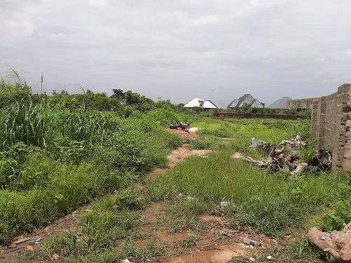 4 plots of land at irete onitsha road owerri IMO state for sale
