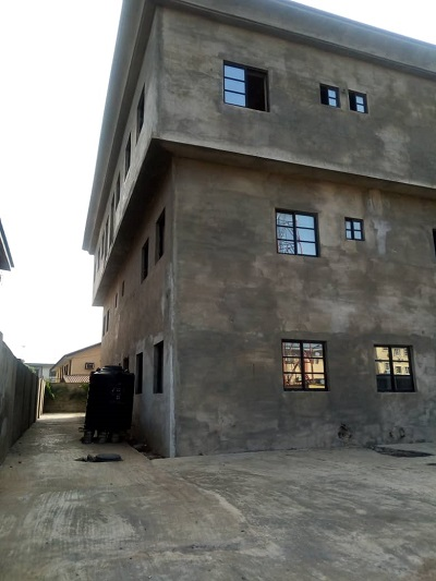 Property, land, houses for sale, Lease and Rent in Nigeria - 70 Percent completed 2nos of 4 bedroom terrace duplex on 2 storey building for sale at OFF Toyin Street, Ikeja