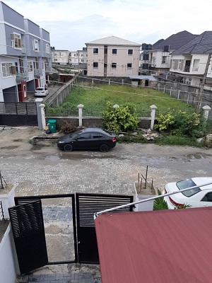 Property, land, houses for sale, Lease and Rent in Nigeria - A new spacious 4 bedroom semi  detach duplex at  Bakare Estate, Chevron, Lagos