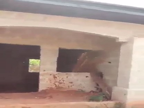 Property for Sale - Houses and Land for Sale - Buy Property in Nigeria - An uncompleted 2 bedroom semi detached bungalow at aladinma for sale